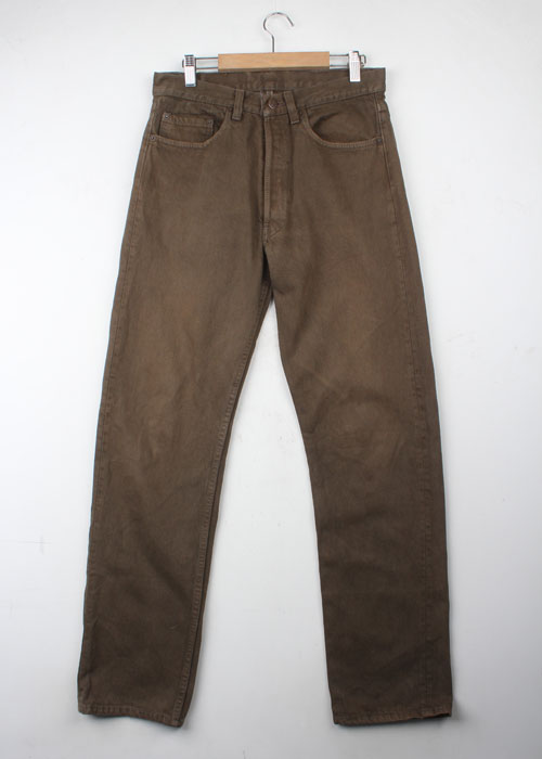 Levi's olive denim pants (30)