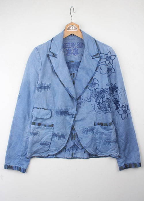 Desigual washed cotton jacket