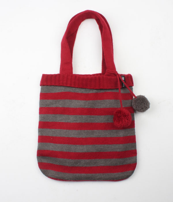 American Eagle knit tote bag