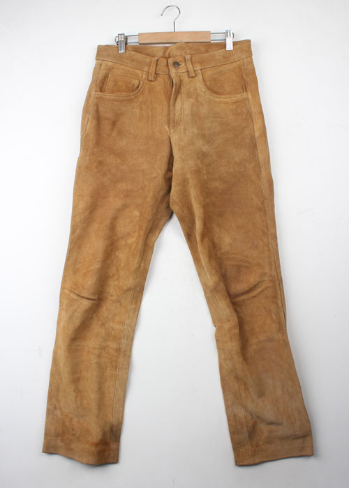 DOG HOUSE suede pants(32)