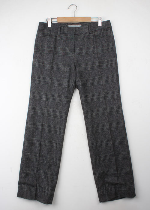 theory luxe tweed wool pants