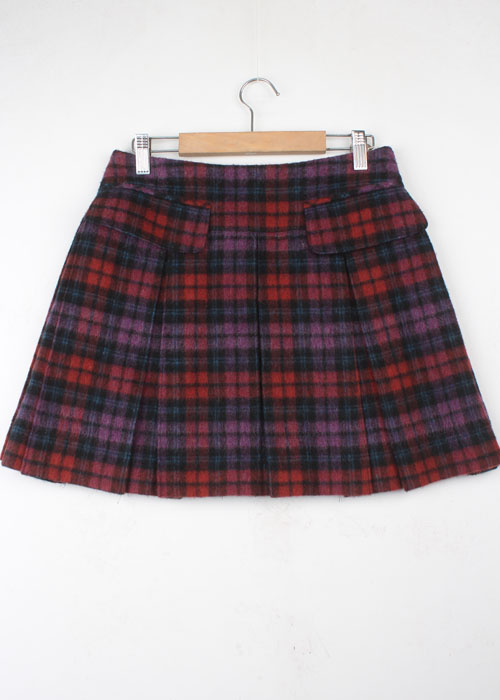 DOLLY GIRL by ANNA SUI wool skirt