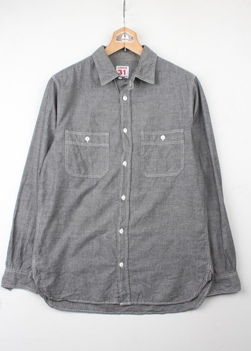 UNION MADE 31 chambray shirts