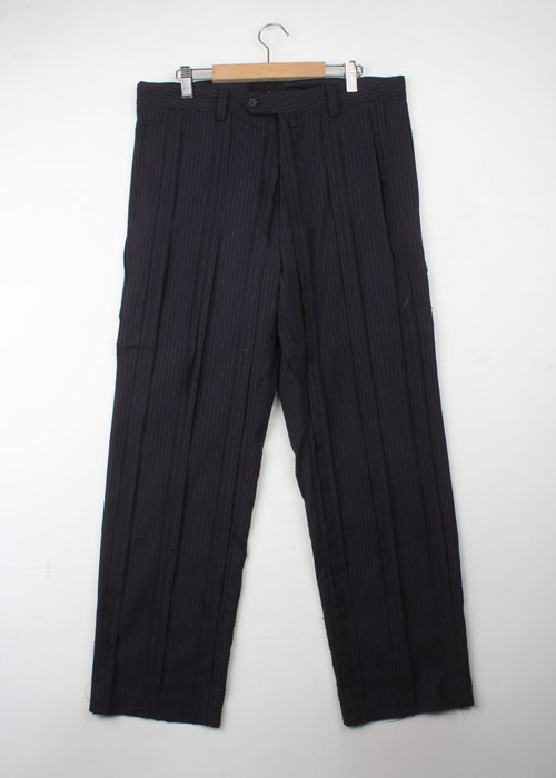 glamb patch work wool slacks (32~34)