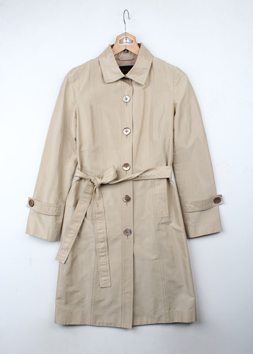 TOMORROWLAND silk blend coat