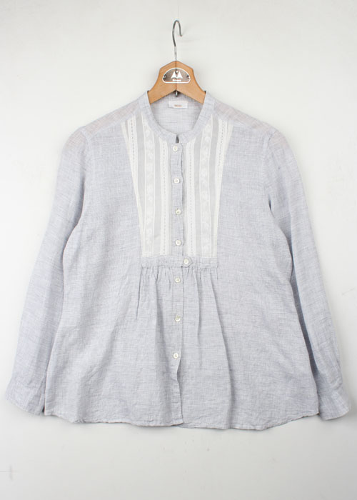 YOU BLU linen blouse