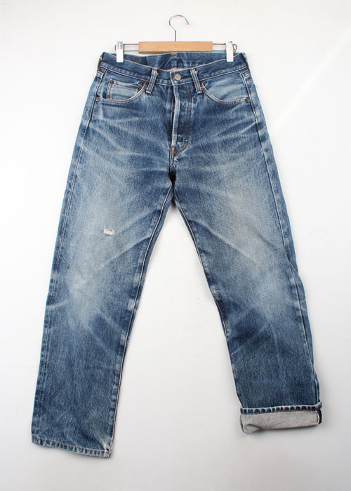 BOW AND ARROW hemp blend selvedge jean(28)