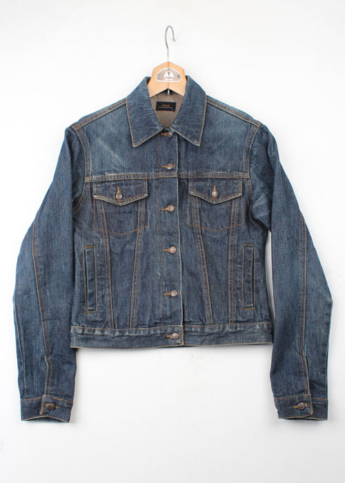 XDYE handcrafted denim jacket