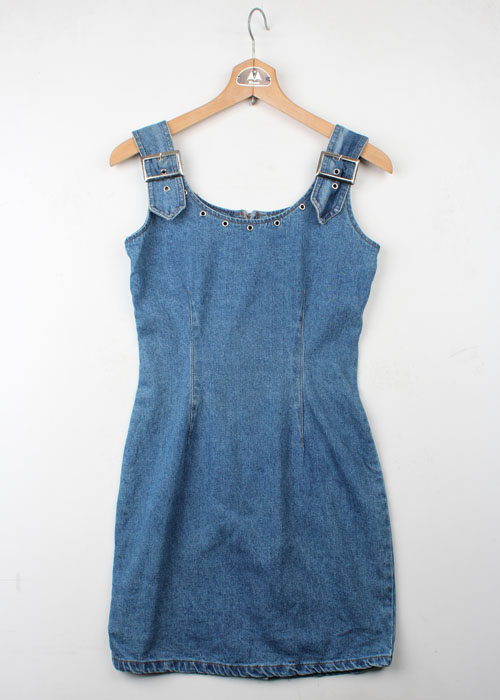 BIG TIME denim one-piece