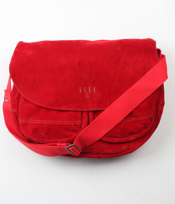 ELLE velour bag