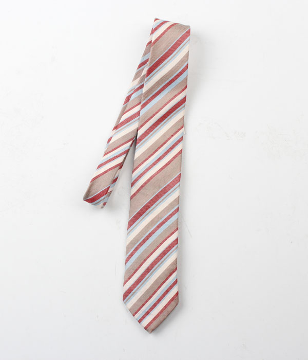 UNIVERSAL LANGUAGE linen+silk tie