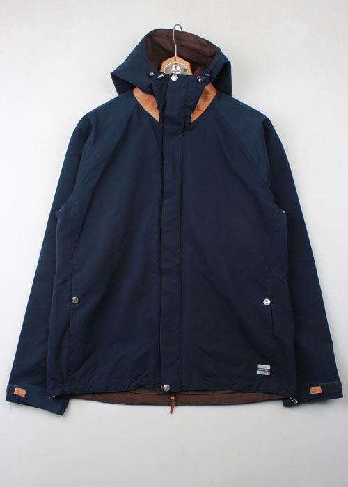 BiceSter leather trim 60/40 mountain parka