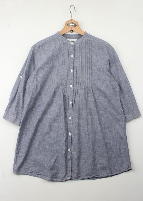 UNIQLO french linen blend shirts