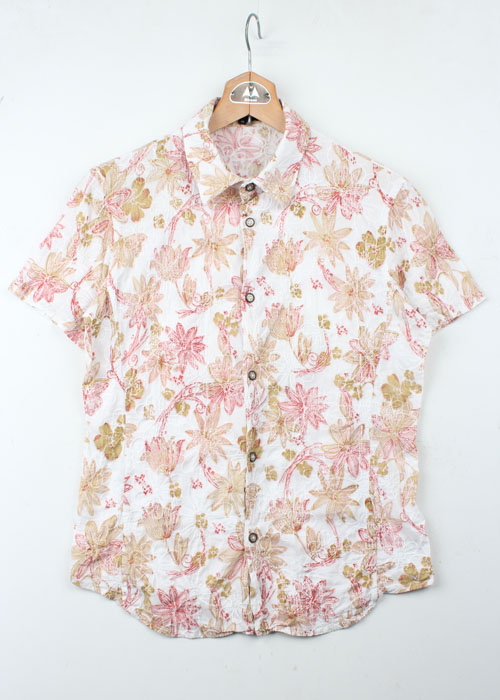 Generic Manipulation by SHINICHIRO KURIYA embreoid floral shirts
