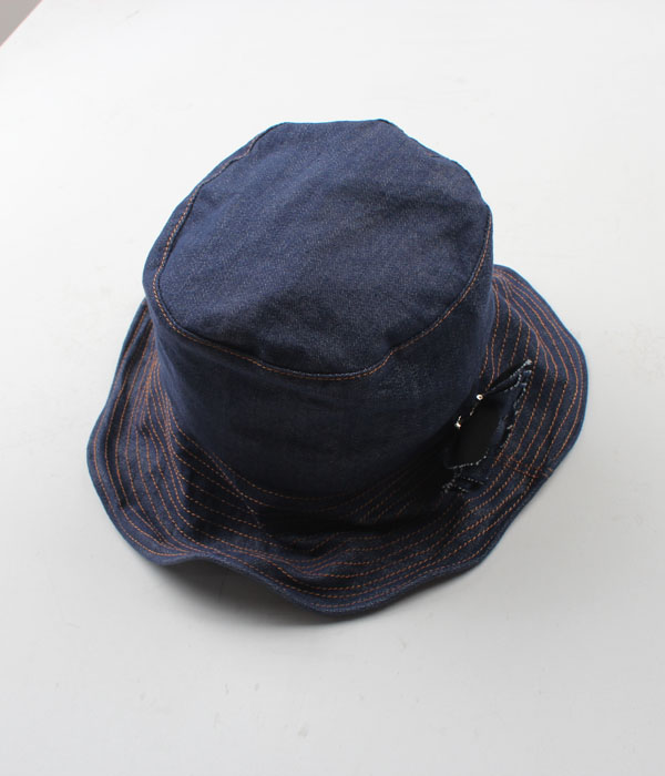 CLAP denim hat