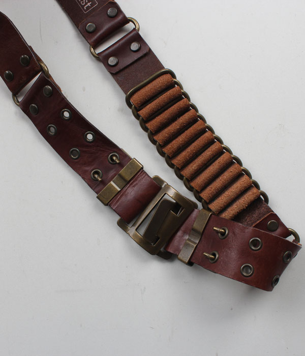 ha:vist leather belt