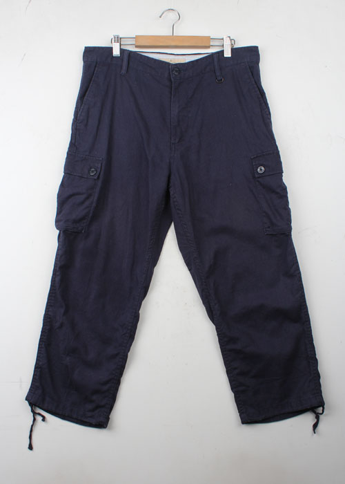 GLOBAL WORK linen blend pants(32)