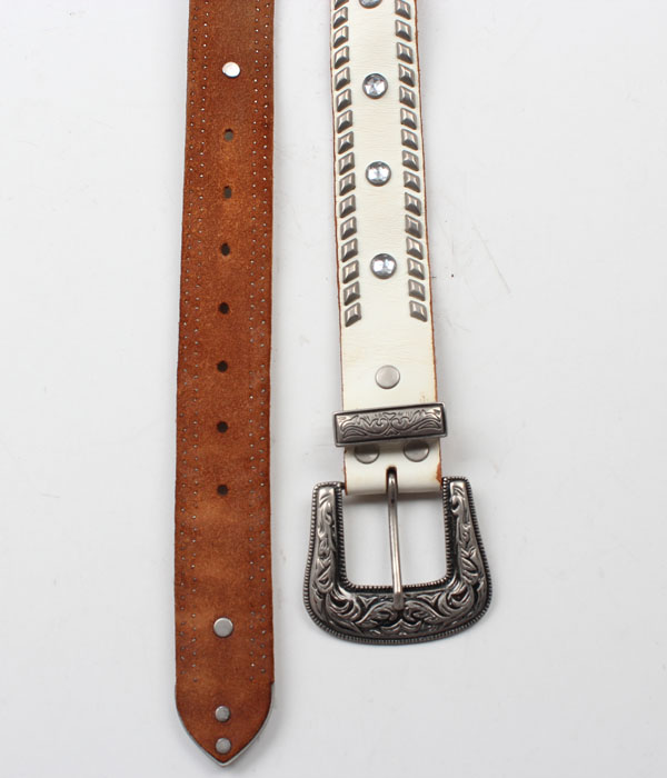 Hawk Company western leather belt