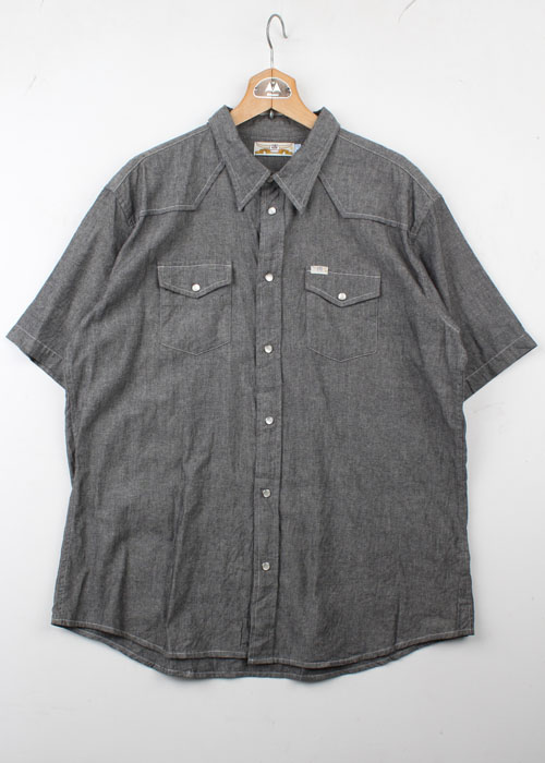 TROPICAL HELL chambray western shirts