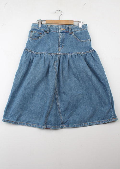 BEAMS BOY denim skirt