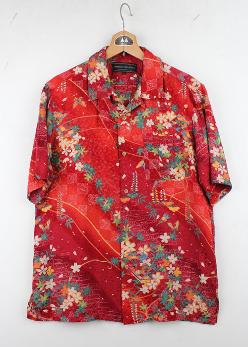 COMME CA COLLECTION silk shirts