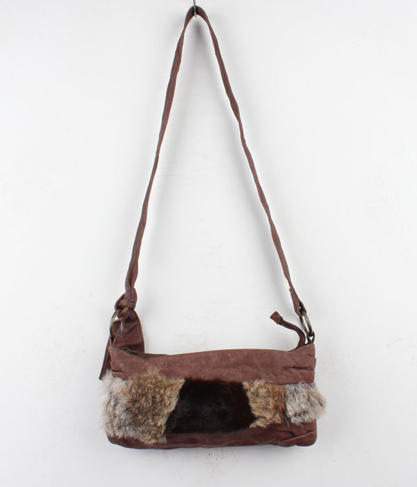 trafico leather cross bag