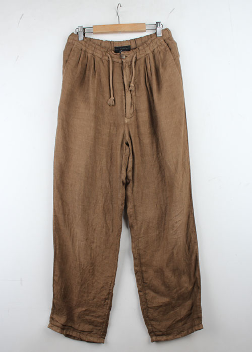 Basic Broek Belgium linen pants(~32)