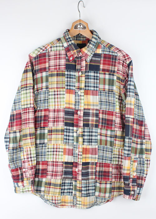 Warehouse Co. patch work shirts