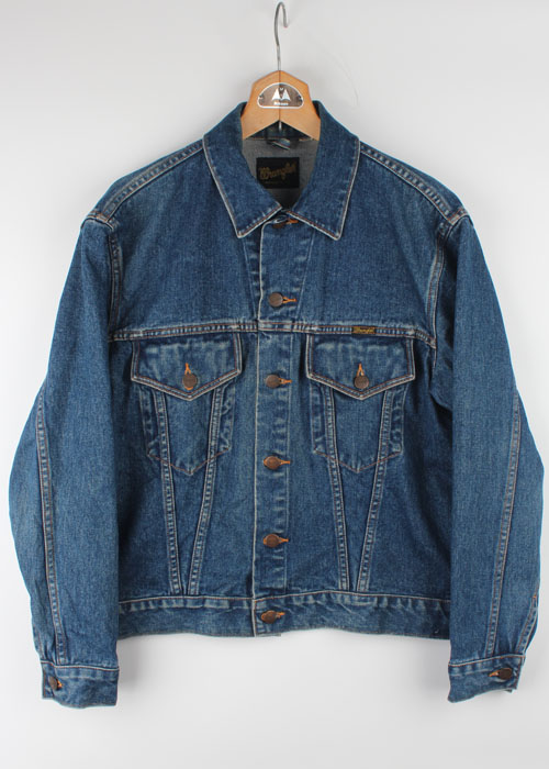 Wrangler denim trucker