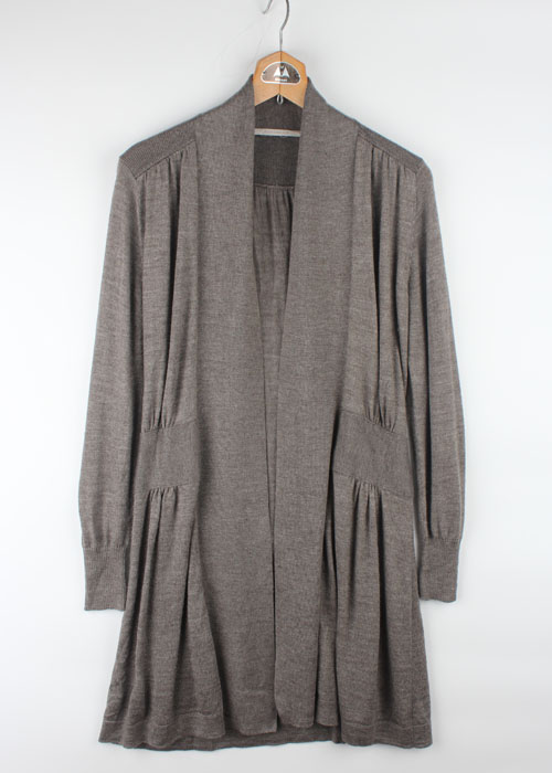 huitieme nid long knit cardigan