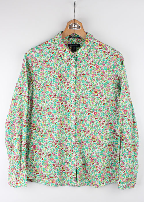 LANDS'END floral shirts