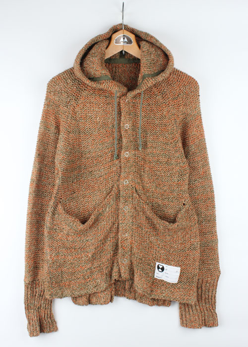 FINAL HOME hemp blen knit jacket