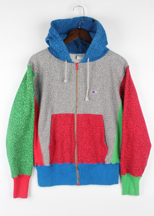 Champion zip-up hoodie