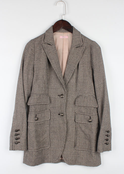 me tweed wool jacket