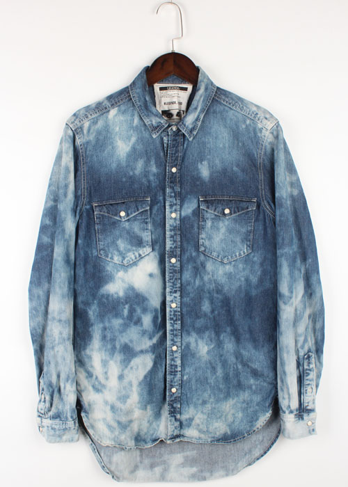 LEGENDA washed denim shirts