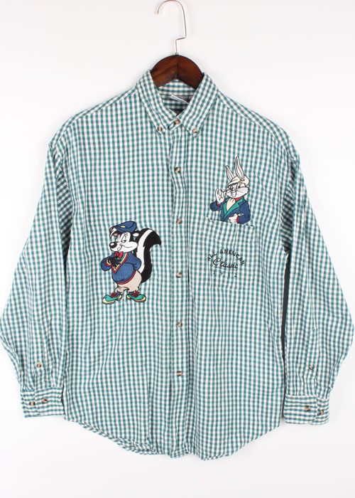 90s' ACME CLOTHING embroid shirts