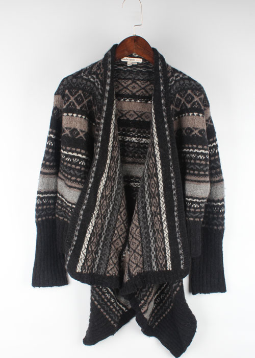 haute hippie nude wool sweater cardigan