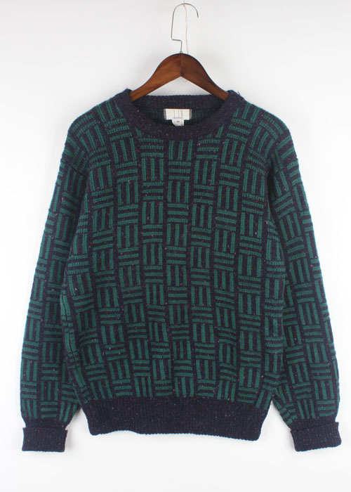 dunhill pure wool sweater