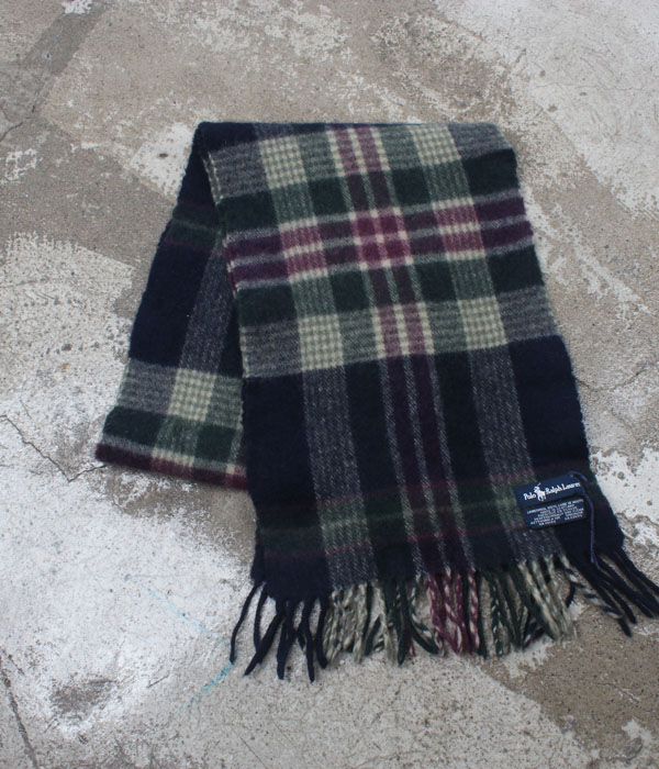 Polo by Ralph Lauren lambswool scarf
