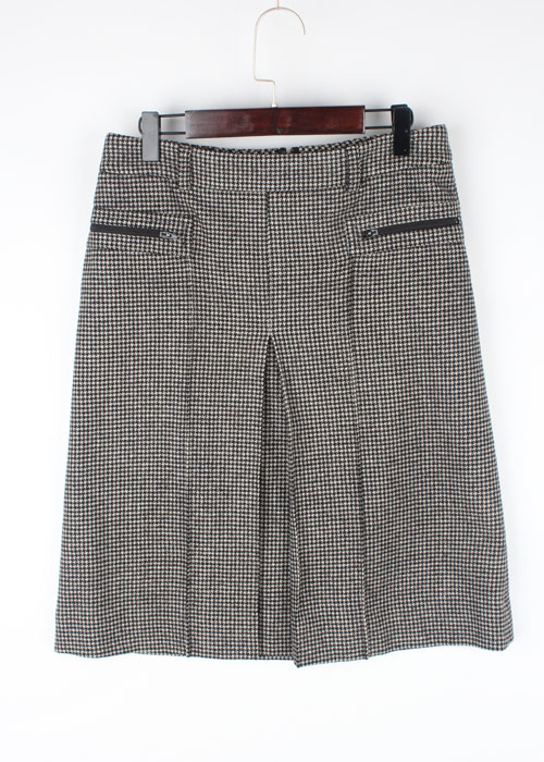theory wool&cashmere skirt