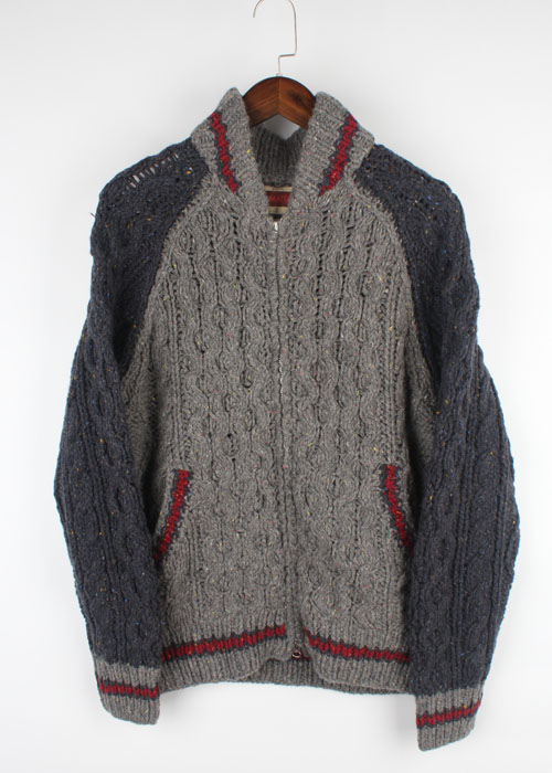 LAMATTA wool sweater jacket