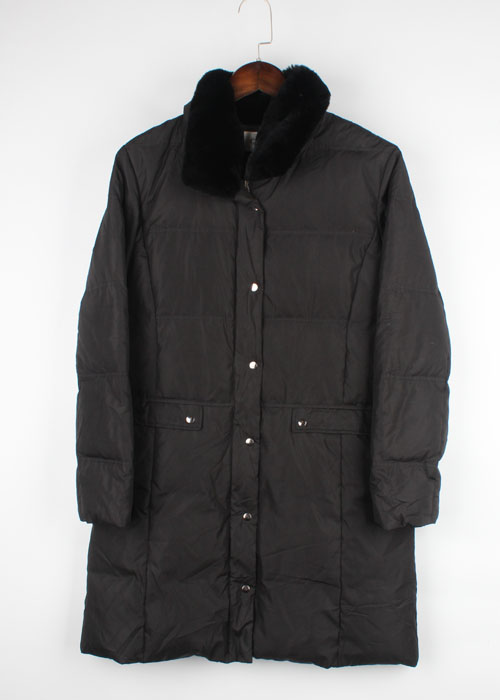 GRADE mink trim down coat
