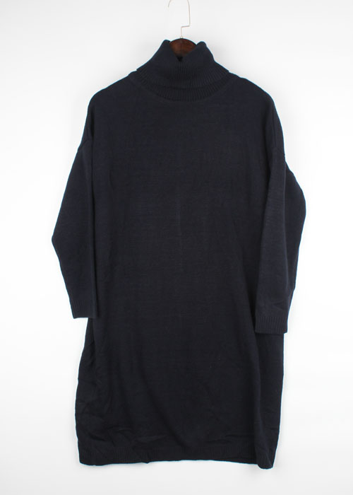 titivate turtleneck knit one-piece