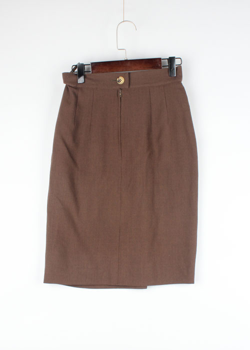 Salvatore Ferragamo wool skirt