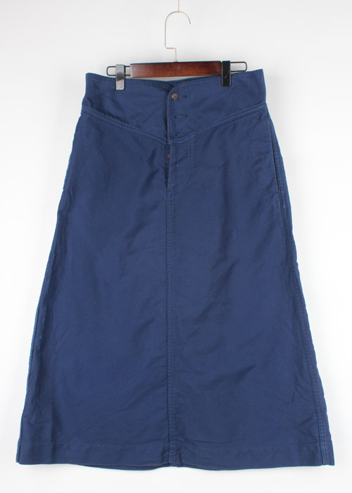 BEAMS BOY heavy cotton skirt