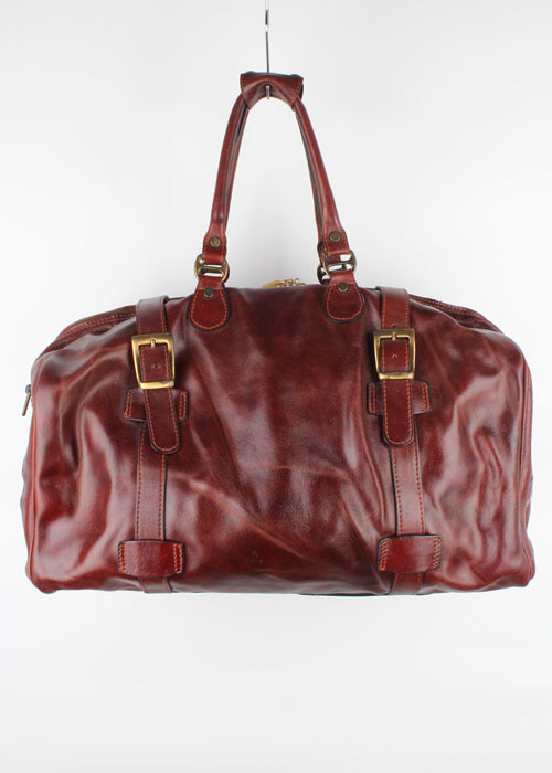 Pratesi leather travel bag