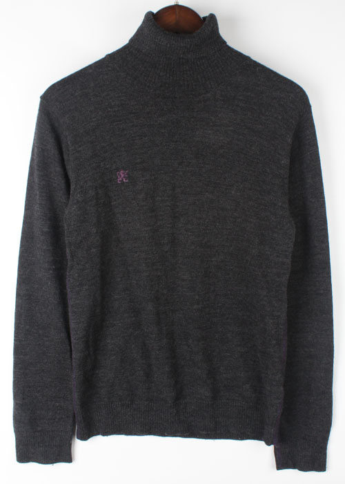 R.NEWBOLD turtle neck wool knit