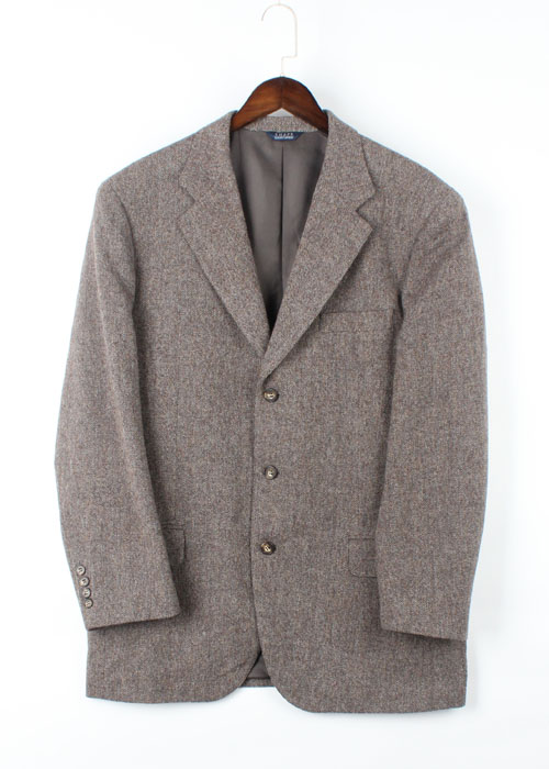 CHAPS RALPH LAUREN  tweed wool blazer (110)