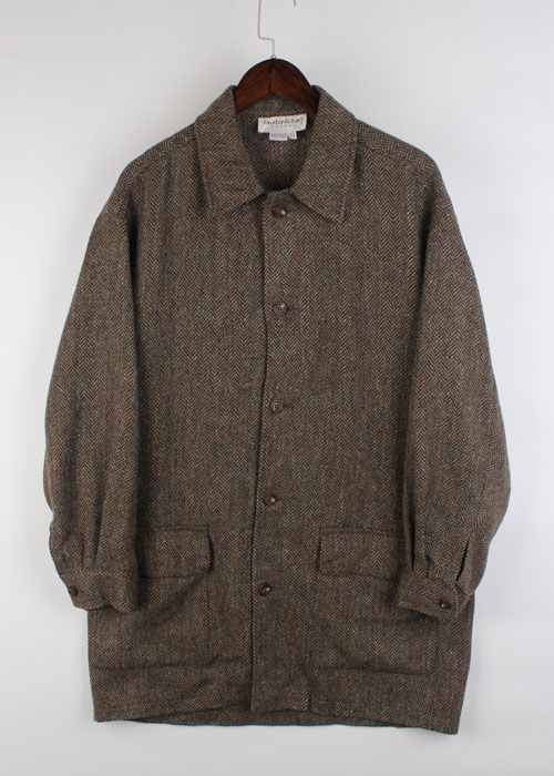 Jonathan Richard tweed wool coat