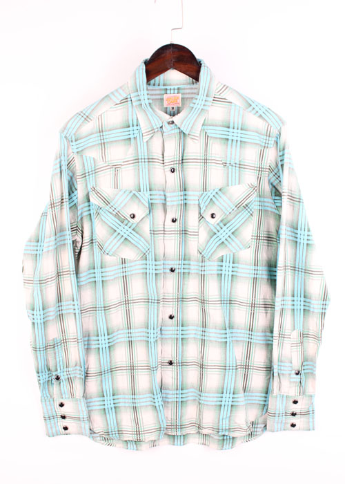 SUGAR CANE check shirts